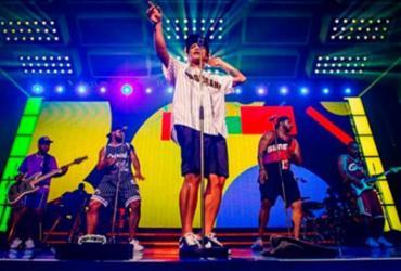 Palco tem princípio de incêndio e Bruno Mars interrompe show | Reprodução | Instagram