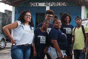 Ação alerta jovens do complexo do Nordeste de Amaralina | Luciano Carcará l Ag. A TARDE