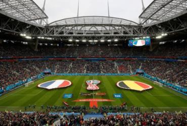 Veja imagens de França x Bélgica |