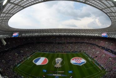 Veja as imagens de França x Croácia |