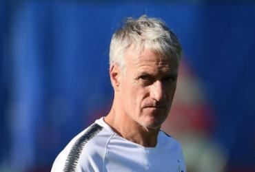 Deschamps, homem de sorte na porta de entrada da história | Franck Fife | AFP
