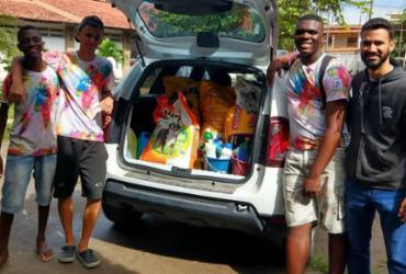 Estudantes de Feira de Santana ajudam instituição de proteção animal