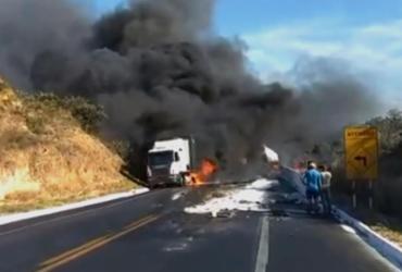 Engavetamento em MG deixa nove mortos e dezenas de feridos | Reprodução | TV Globo