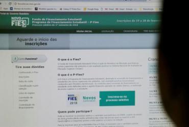Aberto prazo para renovação de contratos do Fies celebrados até 2017 | Adilton Venegeroles | Ag. A Tarde