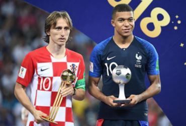 Apesar do vice, Modric é eleito melhor jogador da Copa; Mbappé é a revelação |