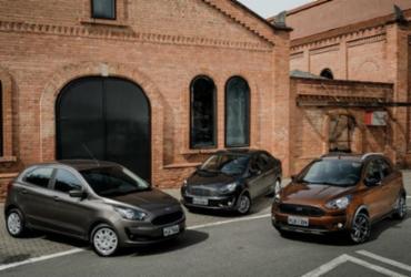 Ford Ka 2019 tem 4 versões e câmbio automático   Divulgação