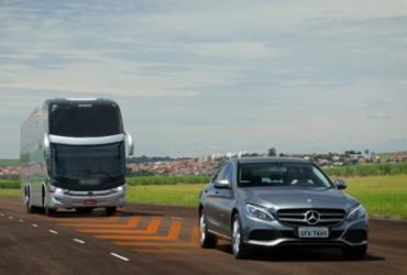 Mercedes-Benz lança piloto automático para ônibus rodoviários   Divulgação   Mercedes-Benz