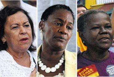 Só duas chapas majoritárias no estado da Bahia têm mulheres | Tiago Caldas, Raul Spinassé, Lucaiano da Matta l Ag. A TARDE e Antonio Queirós l Divulgação
