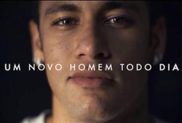 Desculpa 'patrocinada' de Neymar é parte de contrato que custa mais de R$ 25 mi | Gille e Neymar Jr. l Divulgação