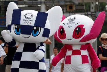 Mascotes oficiais dos Jogos de Tóquio-2020 têm os seus nomes revelados   Issei Kato   AFP