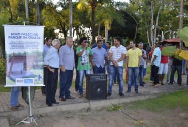Palco do Parque da Cidade de Mata de São João será entregue em setembro