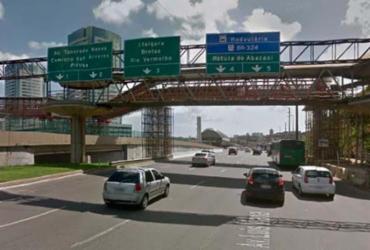 Trânsito é interditado para implantação de passarela em Pernambués | Reprodução | Google Maps