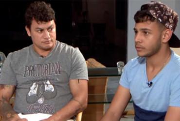 'Passei até a ir pra boate gay', diz Popó sobre relação com filho | Reprodução | SBT