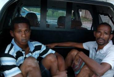 Pai e filho são presos com cocaína em Paripe | Divulgação | SSP-BA