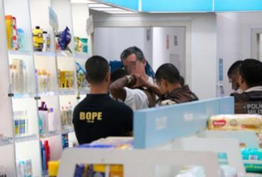 Reféns são liberados após assalto a farmácia em Sussuarana | Alberto Maraux | Divulgação | SSP-BA