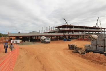 Obras do Hospital Metropolitano estão 37% concluídas