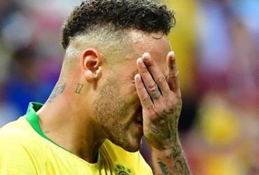 Jogadores lamentam a eliminação do Brasil nas redes sociais | AFP