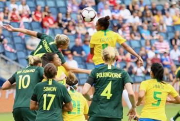 Seleção feminina perde para a Austrália na estreia no Torneio das Nações | Gregorio Fernandes l CBF