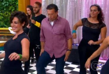 Dancinha de Fernando Rocha no 'Bem Estar' viraliza | Reprodução | TV Globo
