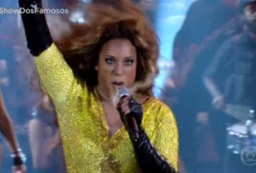 Globo recebe críticas após participante fazer 'blackface' no 'Show dos Famosos' | Reprodução | Globo
