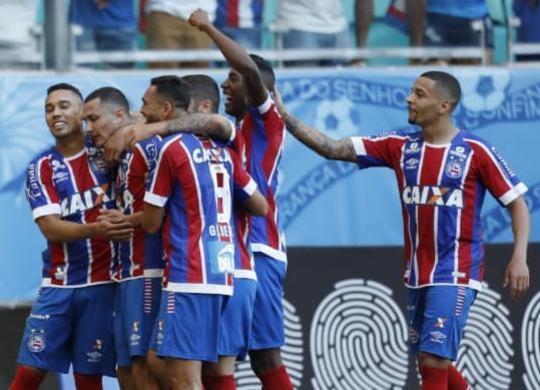 Bahia goleia o Vitória por 4 a 1 e sai da zona de rebaixamento   Adilton Venegeroles   Ag. A TARDE