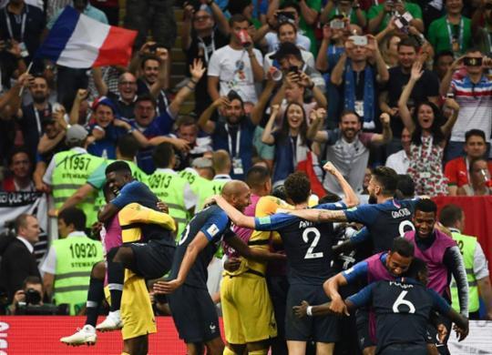 França bate a Croácia na final, fatura bicampeonato e eleva o seu patamar | Franck Fife | AFP