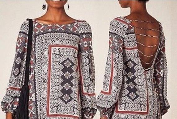 Conheça os principais tipos de decotes femininos | Divulgação | Pinterest