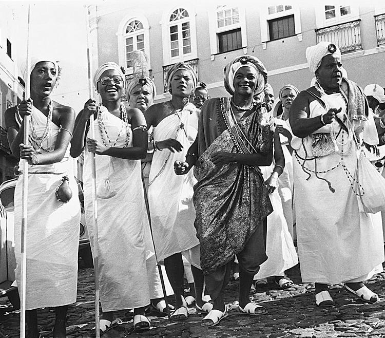A atriz e cantora foi destaque do desfile das Filhas de Gandhi no Carnaval de 1981