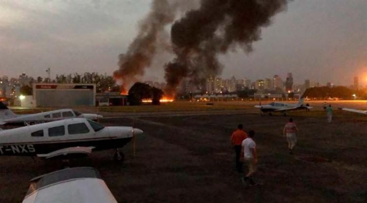 As causas do acidente ainda serão investigadas - Foto: Comandante Leal | Divulgação