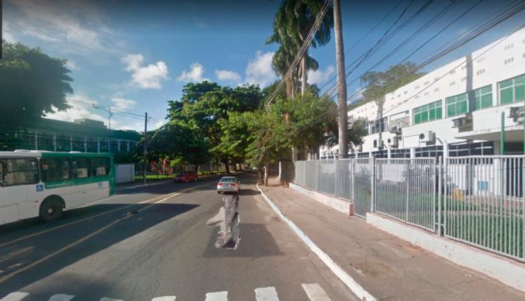 Colisão ocorreu próximo ao Hospital de Medicina Veterinária da UFBA - Foto: Reprodução | Google Maps
