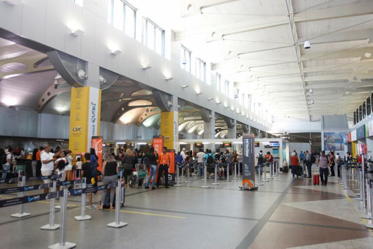 A nota geral do Aeroporto de Salvador foi 4,27 - Foto: Luciano da Matta | Ag. A TARDE