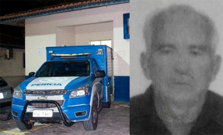 O idoso de 75 anos morreu em uma casa de eventos; a polícia investiga - Foto: Reprodução | Site Liberdade News