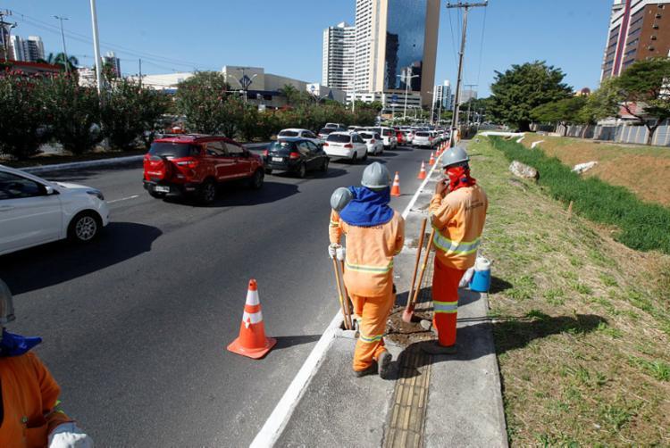 Mudanças no trânsito serão realizadas para as obras do BRT - Foto: Luciano da Matta | Ag. A TARDE