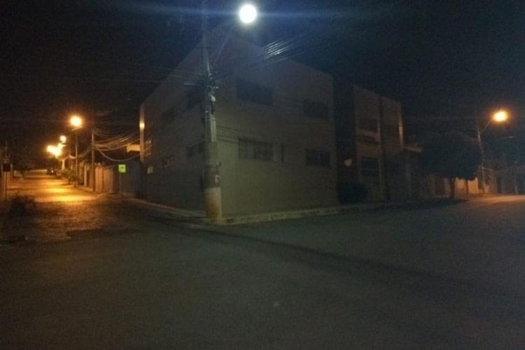 Crime ocorreu no cursinho localizado na avenida João Paulo I, em Brumado - Foto: Lay Amorim | Reprodução | Site Achei Sudoeste