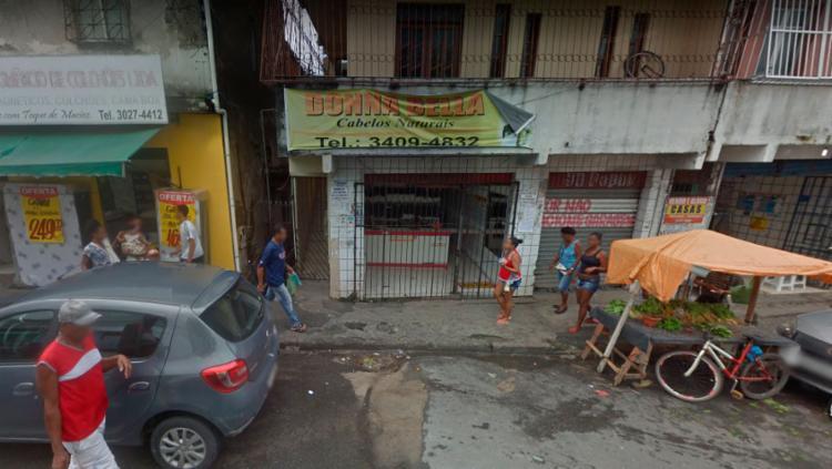 Loja Donna Bella Cabelos Naturais está localizada na Rua Direta de São Marcos - Foto: Reprodução | Google Street View