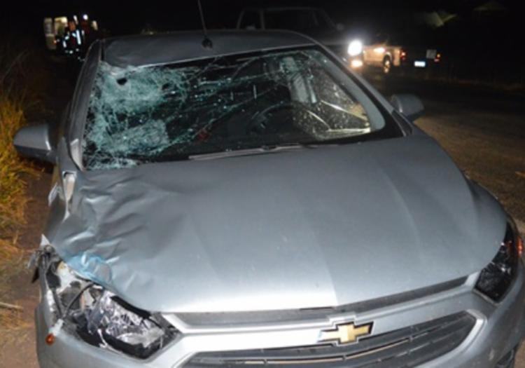 A vítima foi vista vagando desorientada na pista, segundo a PRF - Foto: Reprodução | Blog Braga