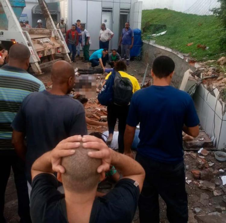 Outras cinco pessoas ficaram feridas e são atendidas pelo Samu - Foto: Cidadão Repórter | Via WhatsApp