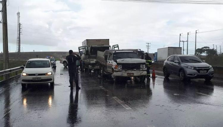 Vítimas foram conduzidas para hospitais - Foto: Divulgação | Bahia Norte