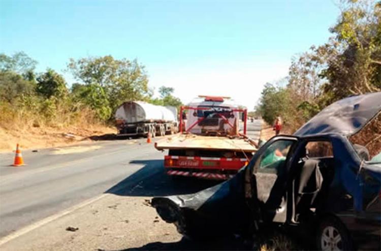 Vítimas seguiam em um Fiat Siena de Brasília para Feira de Santana - Foto: Reprodução | Sigi Vilares