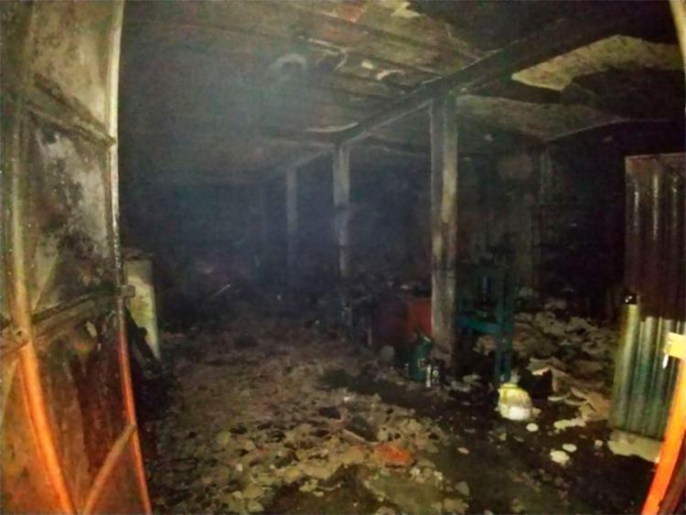Causa do incêndio é desconhecida e será investigada
