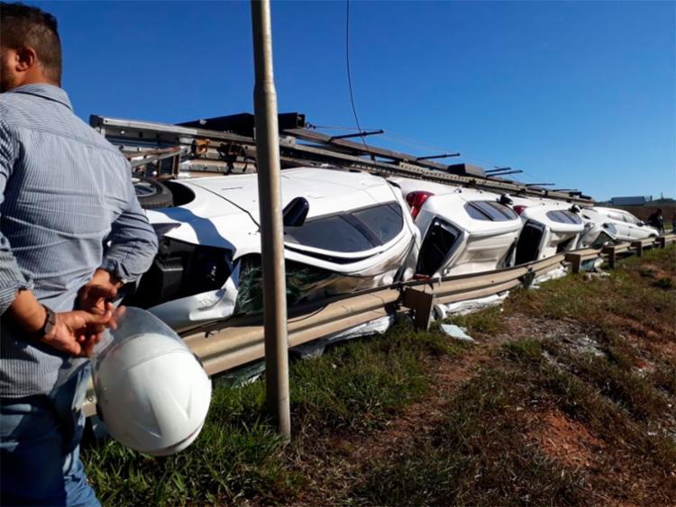 Circunstancias do acidente são desconhecidas até o momento - Foto: Reprodução   Blog do Rodrigo Ferraz