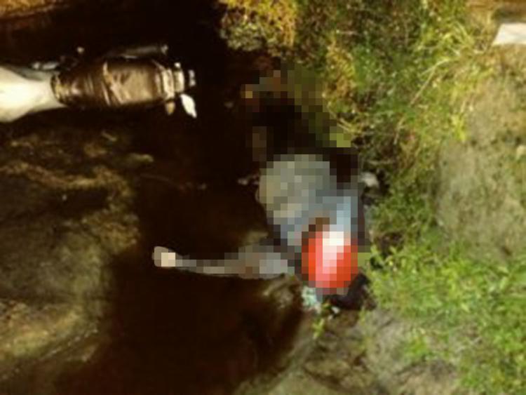 Isaías foi morto com cerca de 15 tiros quando passava de moto sobre uma ponte - Foto: Reprodução | Tom Ribeiro Blog