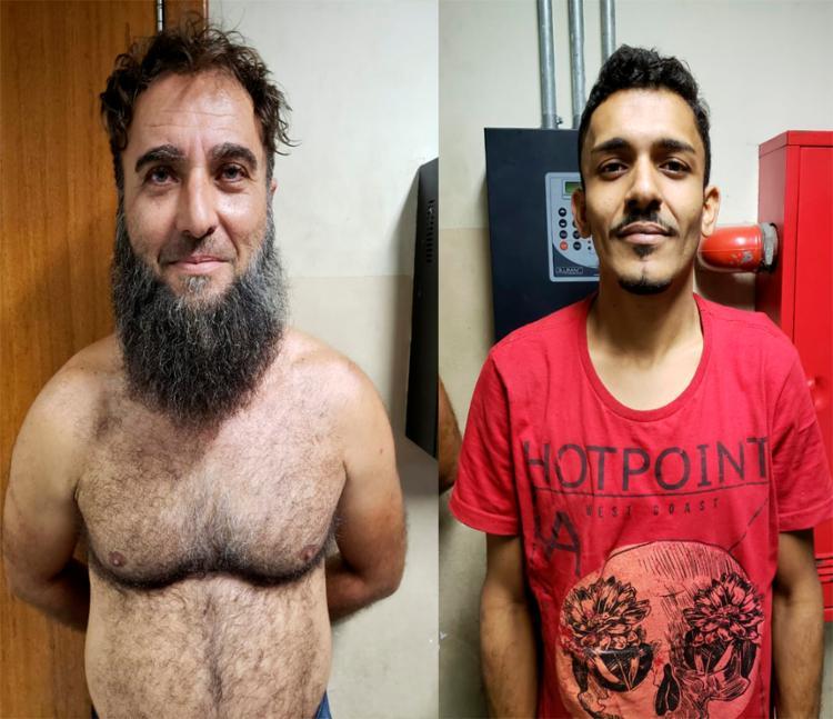 Suspeitos de tráfico foram apresentados na Delegacia de Tóxicos e Entorpecentes (DTE) - Foto: Divulgação | SSP