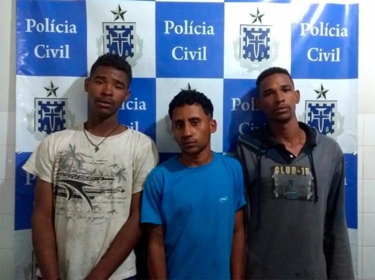 Envolvidos de participação no crime foram localizados durante uma operação policial nesta segunda-feira, 23 - Foto: Divulgação | SSP