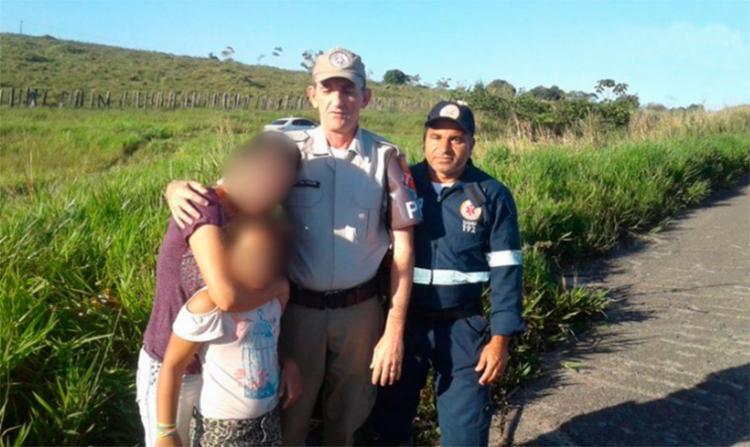 Vítimas estavam amarradas no porta-malas do veículo - Foto: Reprodução | Radar 64