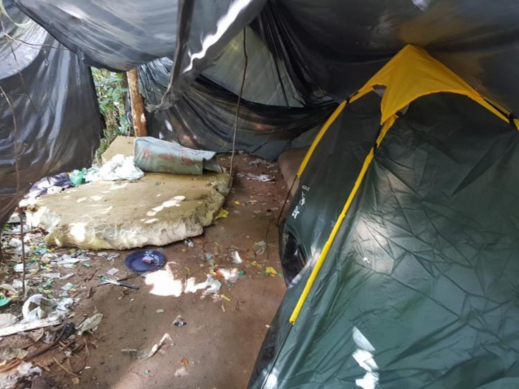 O local era utilizado para distribuição de drogas - Foto: Divulgação | SSP