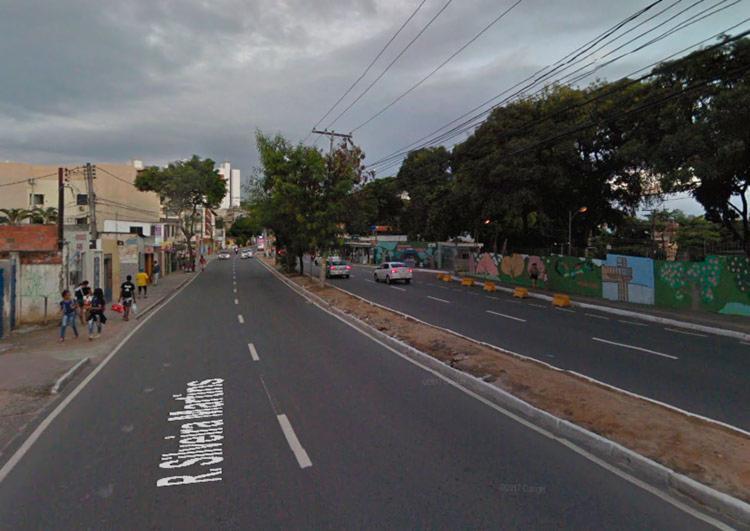 Rompimento ocorreu na manhã deste sábado, na avenida Silveira Martins - Foto: Reprodução | Google Maps