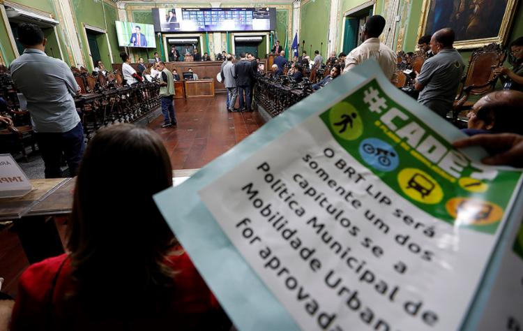 Votação ocorreu na Câmara Municipal de Salvador - Foto: Adilton Venegeroles l Ag. A TARDE