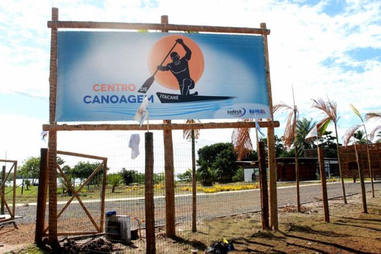 Os centros de canoagem são destinados ao treinamento dos atletas da região de Itacaré, Ubaitaba e Ubatã - Foto: Divulgação
