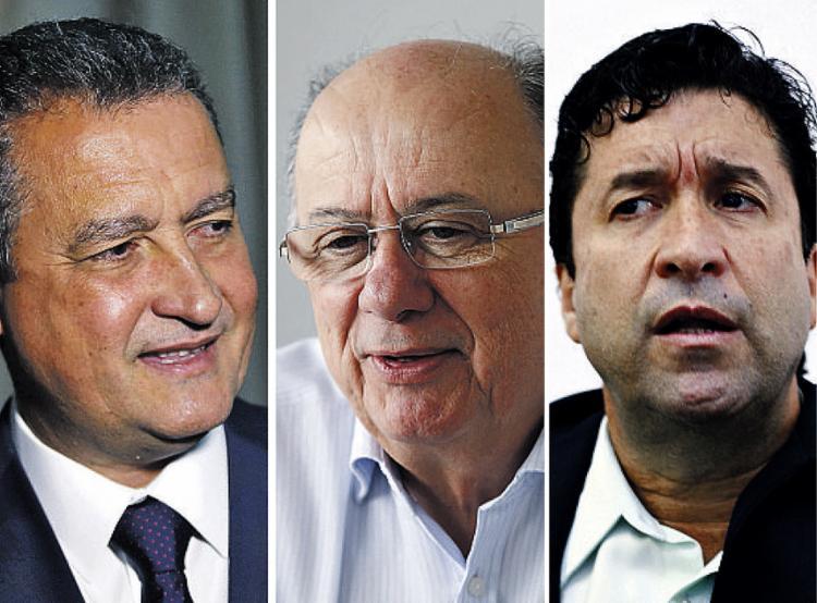 Chapas de Rui e Marcos Mendes estão definidas; Zé Ronaldo ainda articula vice - Foto: Joá Souza l Ag. A TARDE l 28.8.2014